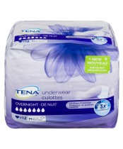 Tena Medium Overnight Underwear