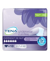 Tena Overnight 13 Underwear