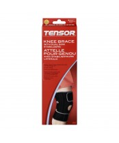 Tensor Knee Brace with Dual Side Stabilizers