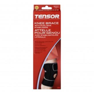 Tensor Knee Brace with Dual Side Stabilizers