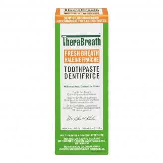TheraBreath Toothpaste with Fluoride