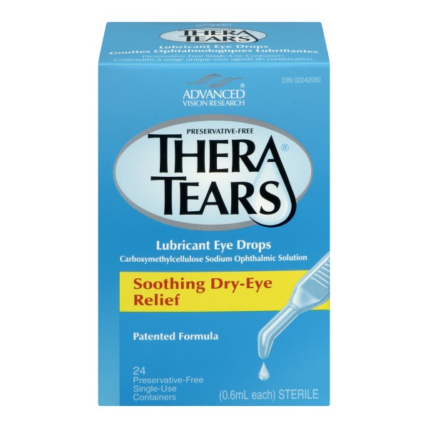 Treadmill Dry Lube: Buy TheraTears Lubricant Eye Drops