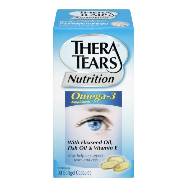 Buy theratears nutrition for dry eye in canada free for Fish oil for dry eyes