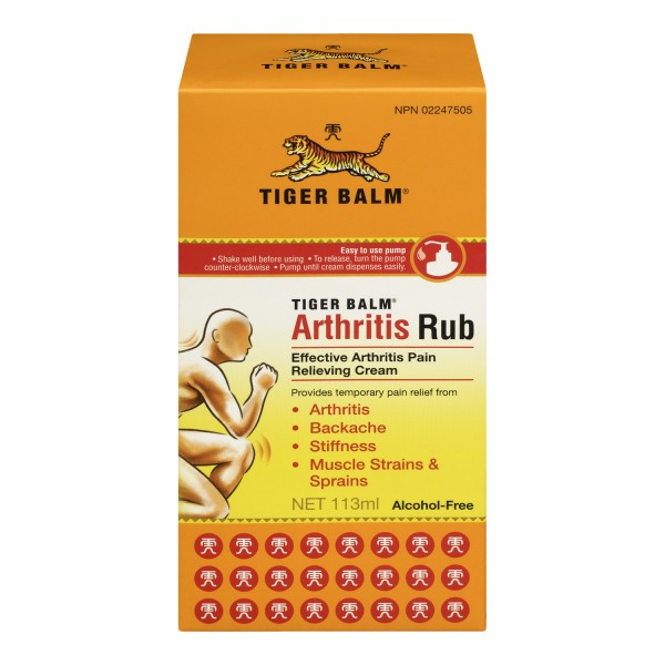 Buy Tiger Balm Pain Relieving Arthritis Rub In Canada
