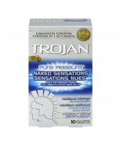 Trojan Pure Pleasure Naked Sensations Lubricated Latex Condoms