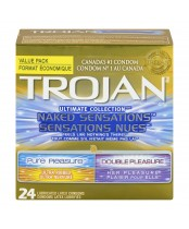 Trojan Ultimate Collection Naked Sensations Condoms Value Pack