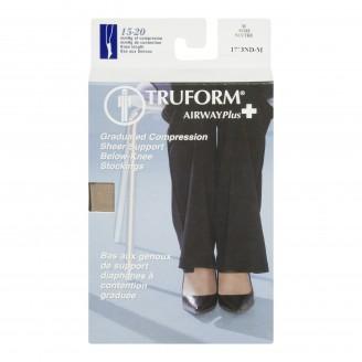 Truform Airway Plus Ladies' Graduated Compression Below Knee Stockings