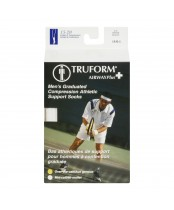 Truform Airway Plus Men's Graduated Compression Athletic Support Socks