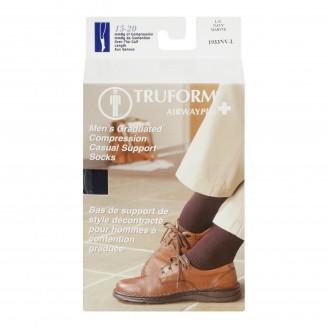 Truform Airway Plus Men's Graduated Compression Casual Support Socks