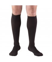 Truform Compression Socks, Men's Dress Socks, Black, Medium