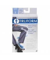 Truform Mens Navy Dress Socks Medium