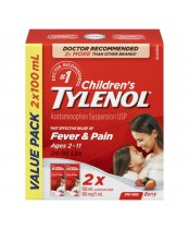 Tylenol Children's Fever & Pain Relief Liquid Value Pack