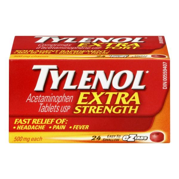 Buy Tylenol Extra Strength In Canada Free Shipping