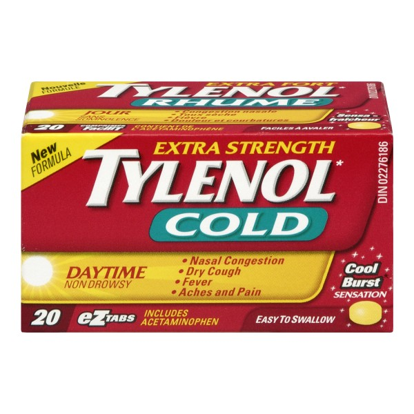 Buy tylenol extra strength cold daytime in canada free shipping