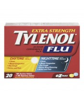 Tylenol Extra Strength Flu Daytime/Nighttime Convenience Pack