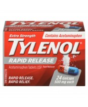 Tylenol Extra Strength Pain Relief Rapid Release Gelcaps