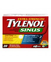 Tylenol Extra Strength Sinus Daytime/Nighttime Convenience Pack