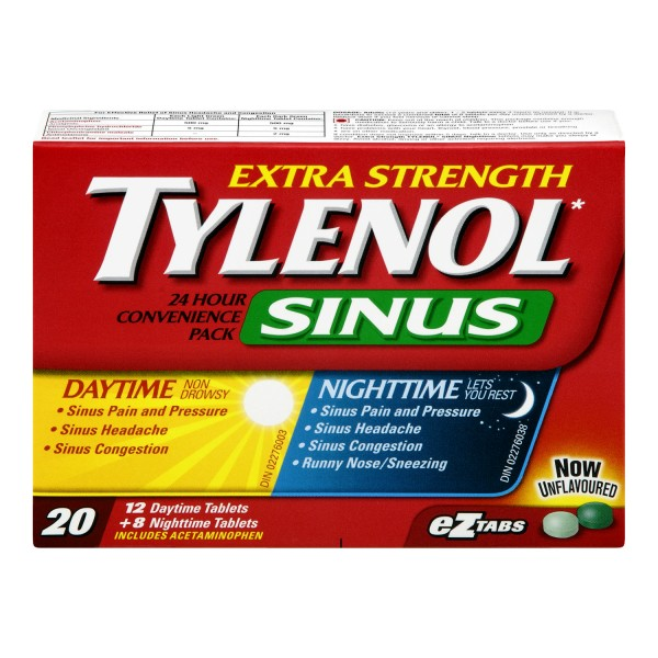 Buy Tylenol Extra Strength Sinus Daytime Nighttime