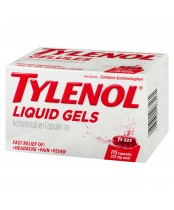 Tylenol Liquid Gels (115 Capsules), Fast Relief of Headache, Pain, Fever