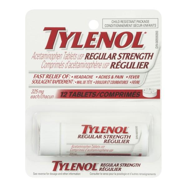 Tylenol 325