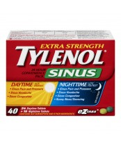 Tylenol Sinus Daytime and Nighttime Convenience Pack