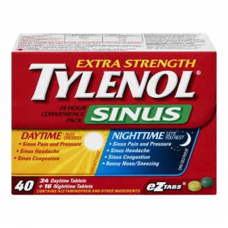 tylenol cold and sinus instructions