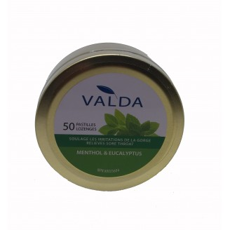 Valda Menthol & Eucalyptus Lozenges