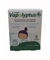 Vapolyptus Soothing Vapour Action Patches