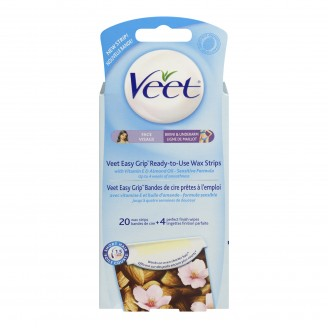 Veet Easy to Use Wax Strips for Face & Bikini