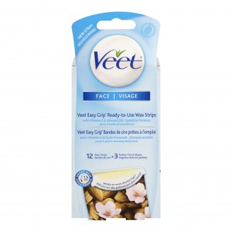 Veet Easy To Use Wax Strips for Face