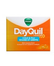 Vicks DayQuil Cold and Flu Multi Symptom Relief