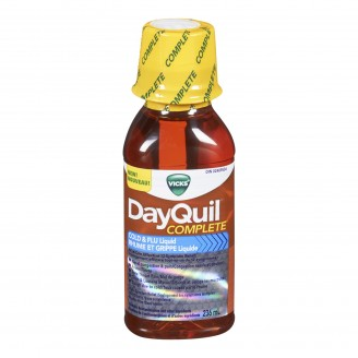 Vicks DayQuil Complete Cold and Flu Liquid