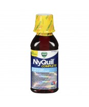 Vicks NyQuil Complete Cold and Flu Liquid