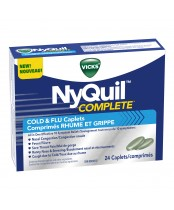 Vicks NyQuil Complete Cold & Flu Caplets