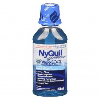 Vicks NyQuil Complete VapoCooL Cold & Flu Liquid