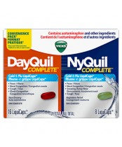 Vicks NyQuil DayQuil Complete Combo