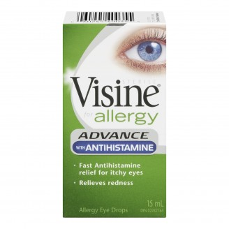 Visine Allergy Advance with Antihistamine Eye Drops
