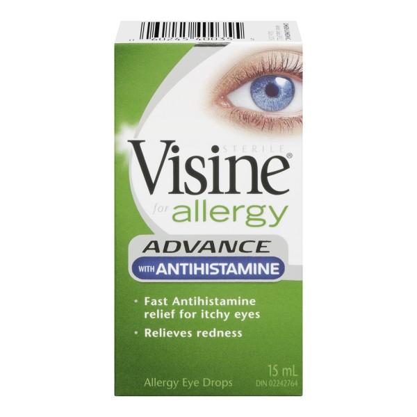 Allergy drops for eyes