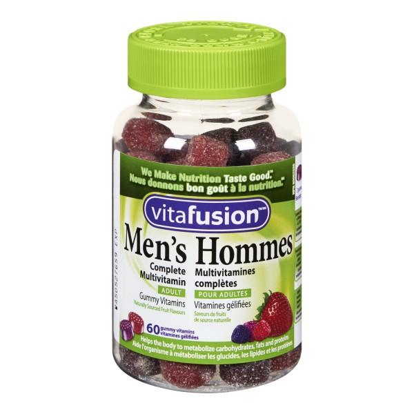 buy vitafusion men s complete multivitamin gummies in