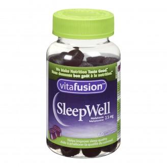 Vitafusion Sleepwell Gummies Melatonin Supplements