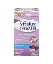 Vitalux Advanced Chewable Ocular Multivitamin Tablets