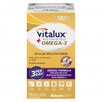 Vitalux Advanced Ocular Multivitamin + Omega-3