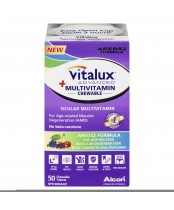 Vitalux Advanced Plus Chewable Multivitamin 50's
