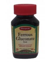 Wampole Ferrous Gluconate Iron Tablets