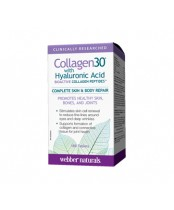 Webber Naturals Collagen30 Complete Skin and Body Repair with Hyaluronic Acid