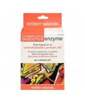 Webber Naturals Complete Digestive Enzyme Capsules