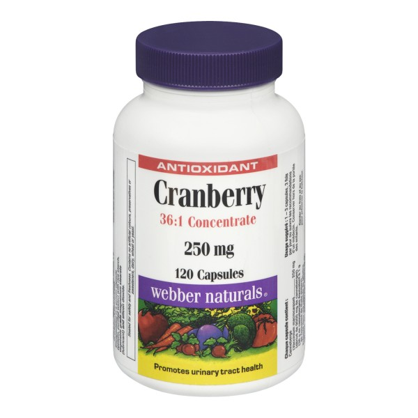 Buy Webber Naturals Cranberry 36 1 Concentrate Capsules In