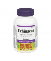 Webber Naturals Echinacea Standardized Herb Extract