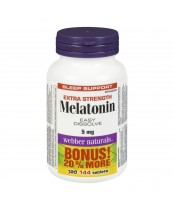Webber Naturals Extra Strength Melatonin Bonus Pack