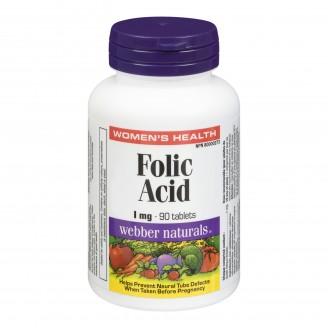 Webber Naturals Folic Acid